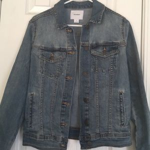 Old navy light wash denim jacket